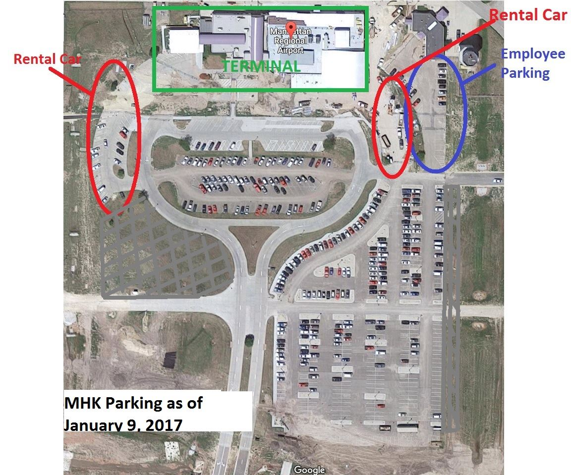MHK parking as of 1-9-17